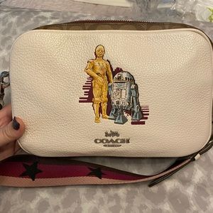 Coach Star Wars R2D2/C3PO purse